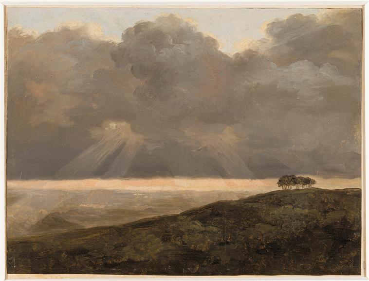 Fin XVIIIe début XIXe Pierre-Henri de Valenciennes et le paysage néoclassique L_00510