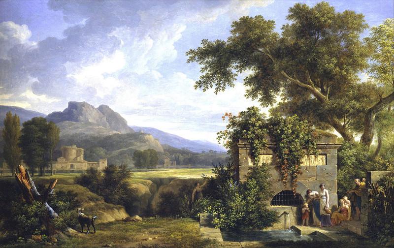 Fin XVIIIe début XIXe Pierre-Henri de Valenciennes et le paysage néoclassique Pierre12