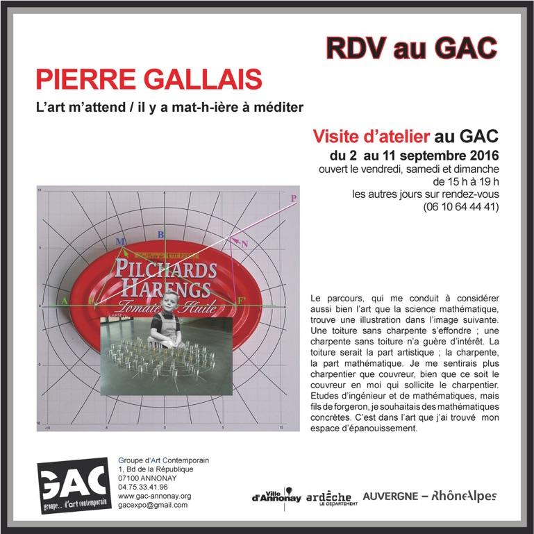 art et mathématique, Pierre Gallais Rdvipi10