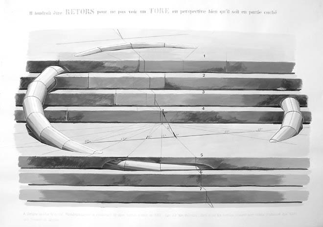 art et mathématique, Pierre Gallais Tore_010