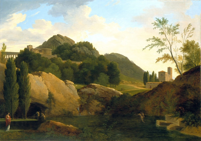 Fin XVIIIe début XIXe Pierre-Henri de Valenciennes et le paysage néoclassique Tumblr10