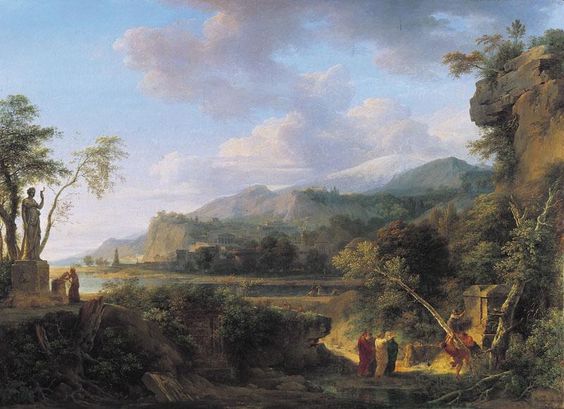 Fin XVIIIe début XIXe Pierre-Henri de Valenciennes et le paysage néoclassique Valenc10