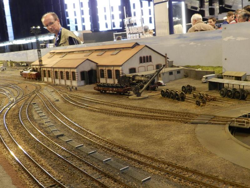 Exposition de modélisme ferroviaire (AMF53) à Laval le 9 octobre 2016 Vauvyr11