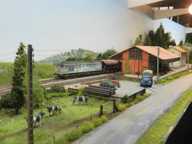 Exposition de modélisme ferroviaire (AMF53) à Laval le 9 octobre 2016 Vauvyr17