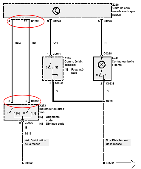 pas de retroeclairage compteur et console - Page 2 Eclint15