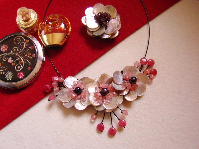 """""""Flori de piatră-Bijoux"""" albumul I-bijuterii artizanale marca Didina Sava - Pagina 3 Colier11"""