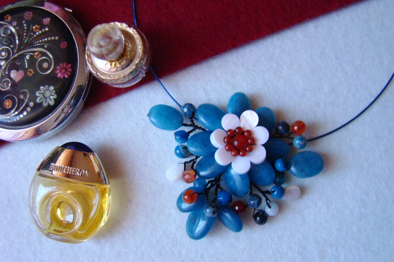 """""""Flori de piatră-Bijoux"""" albumul I-bijuterii artizanale marca Didina Sava - Pagina 3 Colier19"""