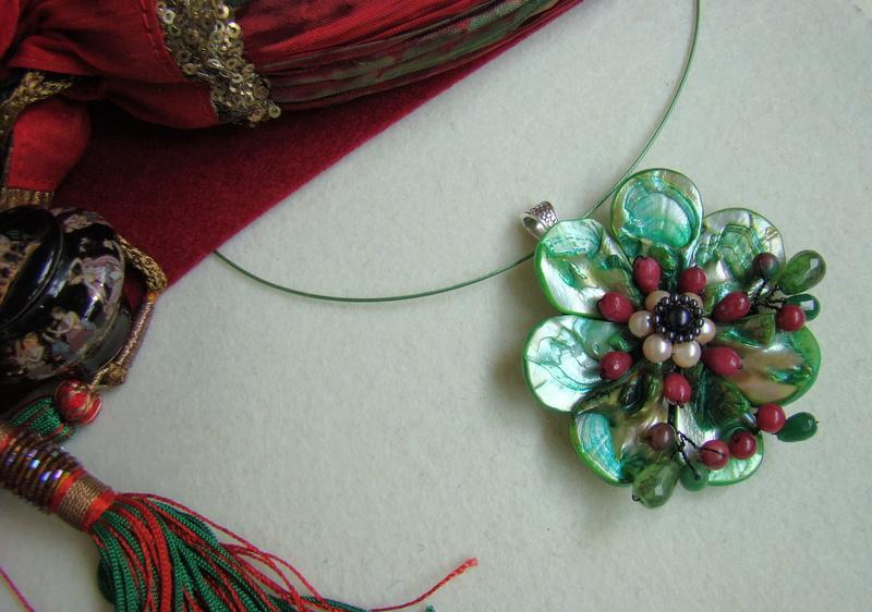 """""""Flori de piatră-Bijoux"""" albumul I-bijuterii artizanale marca Didina Sava - Pagina 3 Colier39"""