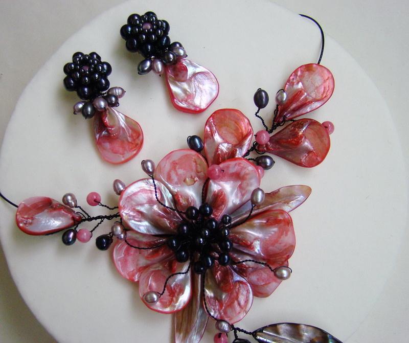 """""""Flori de piatră-Bijoux"""" albumul I-bijuterii artizanale marca Didina Sava - Pagina 3 Colier45"""