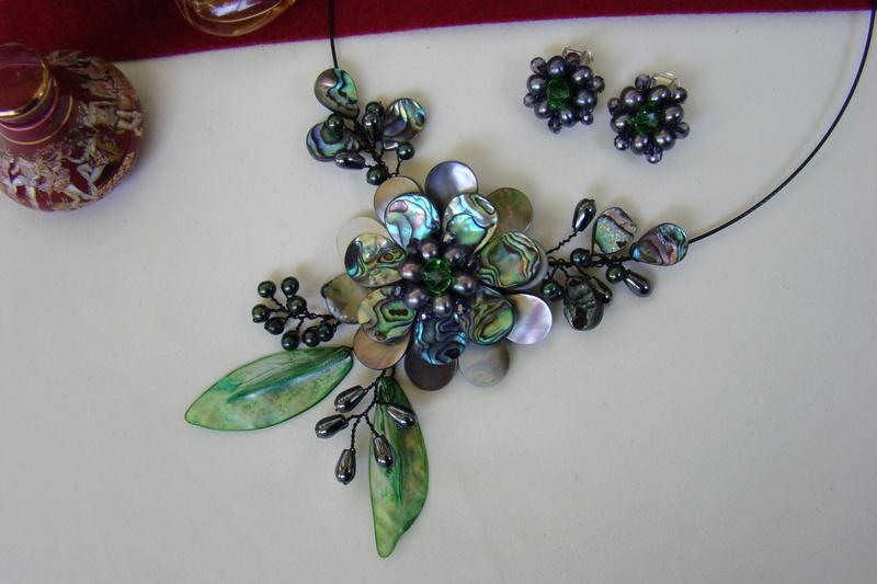 """""""Flori de piatră-Bijoux"""" albumul I-bijuterii artizanale marca Didina Sava - Pagina 3 Colier47"""