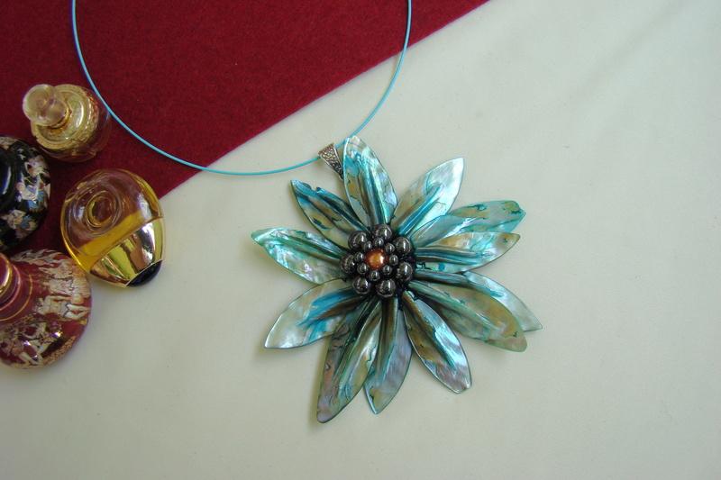 """""""Flori de piatră-Bijoux"""" albumul I-bijuterii artizanale marca Didina Sava - Pagina 3 Colier50"""