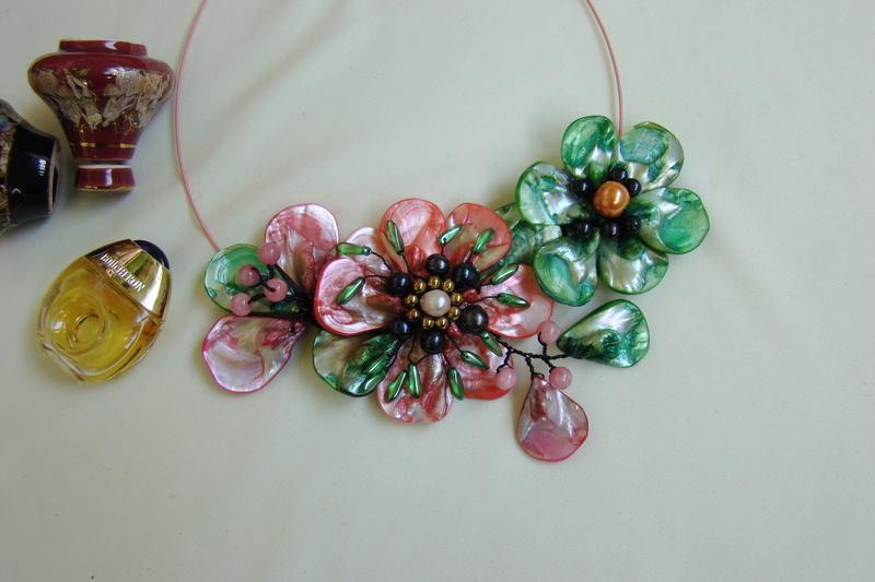 """""""Flori de piatră-Bijoux"""" albumul I-bijuterii artizanale marca Didina Sava - Pagina 3 Colier56"""