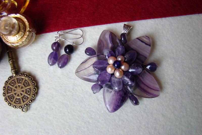 """""""Flori de piatră-Bijoux"""" albumul I-bijuterii artizanale marca Didina Sava - Pagina 2 Colier76"""
