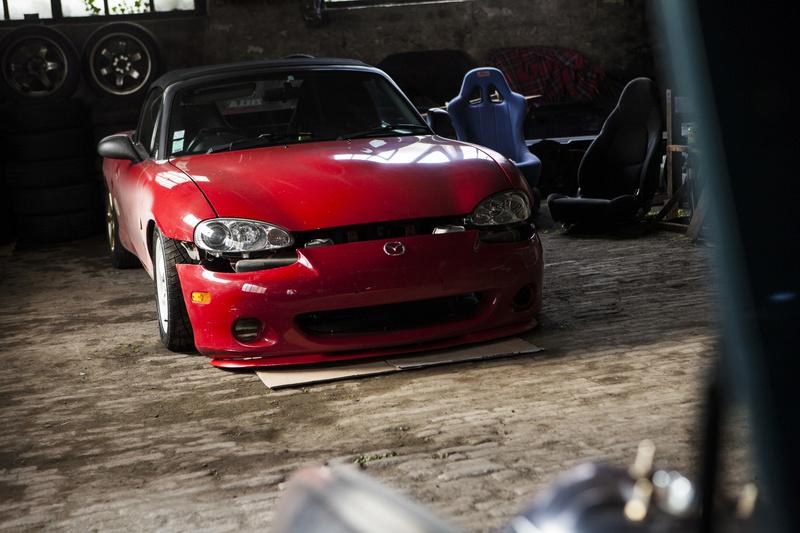 Bmw ae36 + Mazda Roadster NB8C peinture ok Img_3011