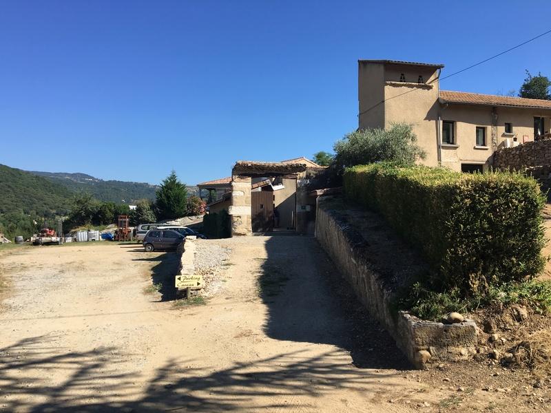 Visite au Domaine Johann Michel, de Cornas et Saint-Péray,  Img_2412