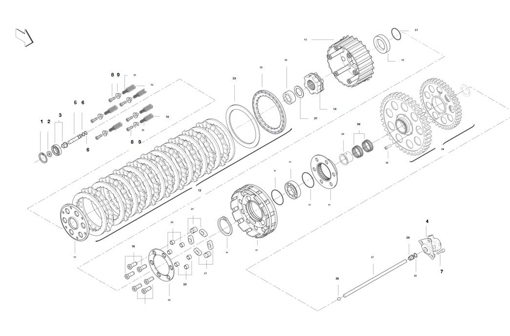 Cloche embrayage R160 Ishot-12