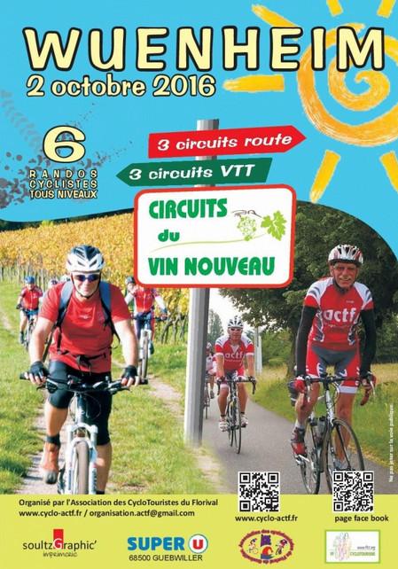 Circuits du vin nouveau à Wuenheim dimanche 02 octobre Circui15