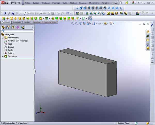 [SolidWorks] Le texturage 0310
