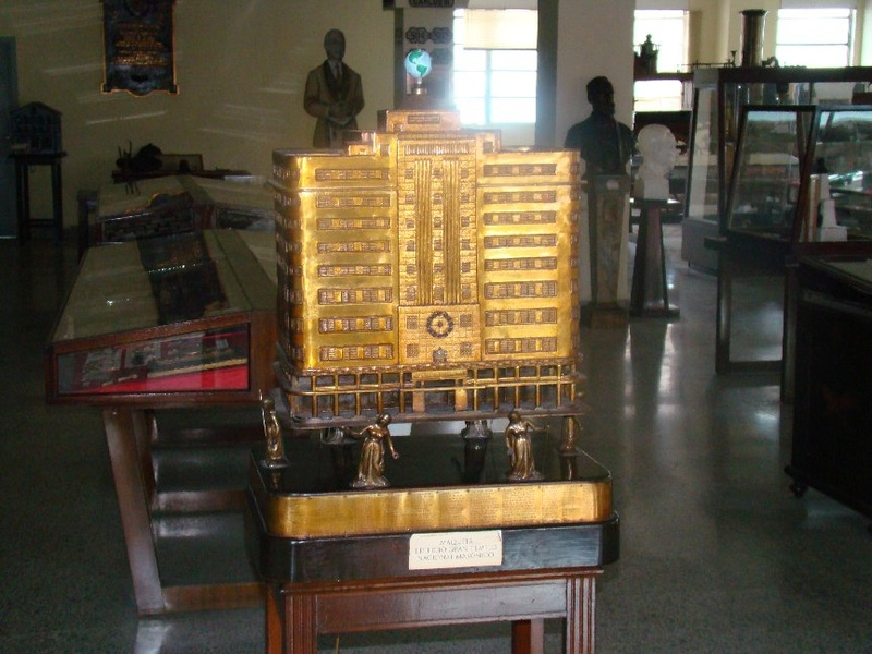 "Museo Nacional Masónico ""Aurelio Miranda Álvarez"" de la Gran Logia de Cuba de A:.L:. y A:.M:. Havana10"