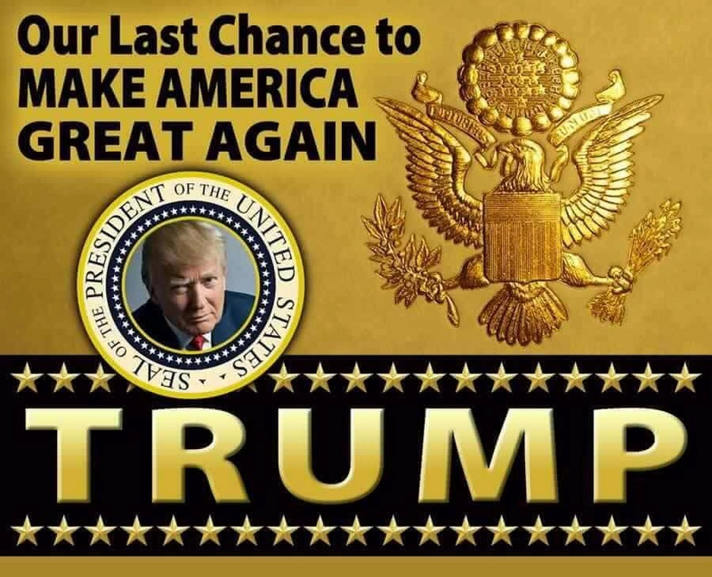 MAKE AMERICA GREAT AGAIN  ***  CAMPAÑA PRESIDENCIAL DE DONALD J. TRUMP Trump10