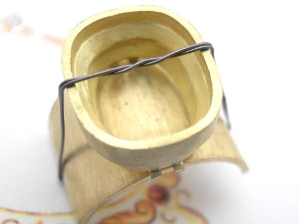 Chevalière or 18 K et améthyste. Dscn9527