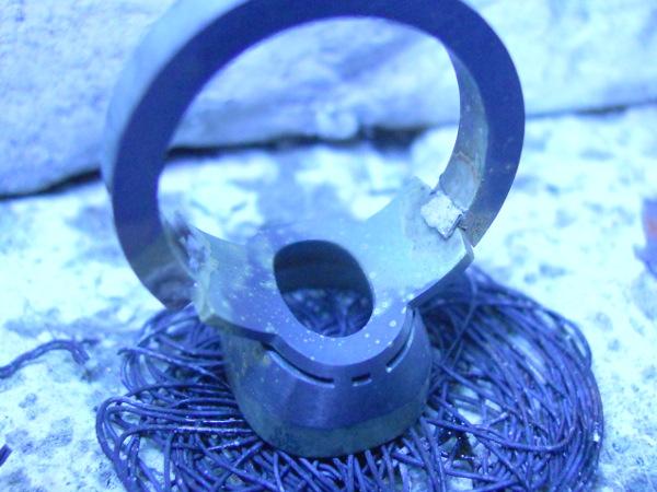 Chevalière or 18 K et améthyste. Dscn9531