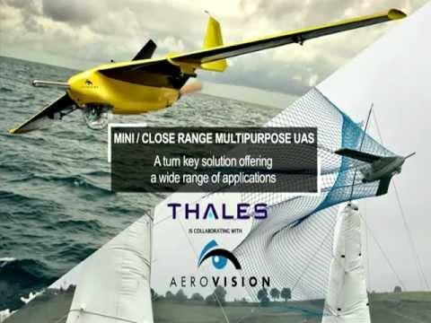 le drone Fulmar de Thales Hqdefa10