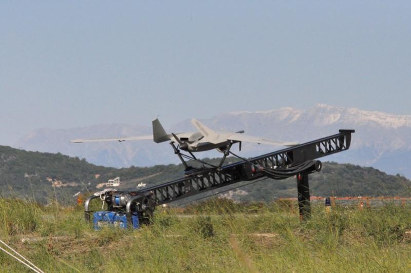 le drone Fulmar de Thales Uav-fu10