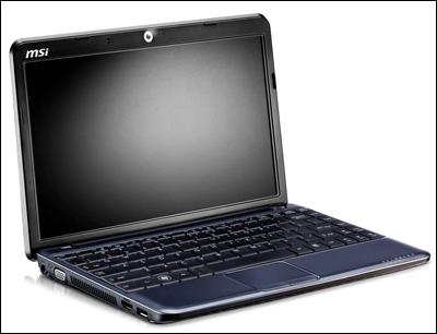 MSI анонсировала ноутбук Wind12 U230 Ms10