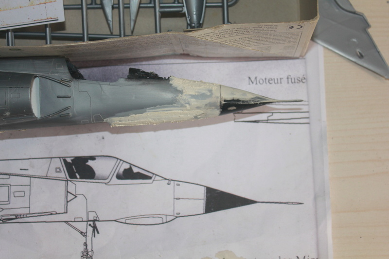 Mirage III E 1/32 revell - Page 2 Img_1938