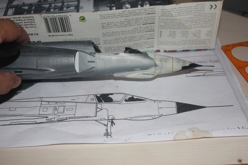 Mirage III E 1/32 revell - Page 2 Img_1939