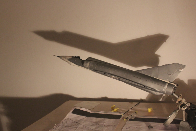 Mirage III E 1/32 revell - Page 3 Img_1951