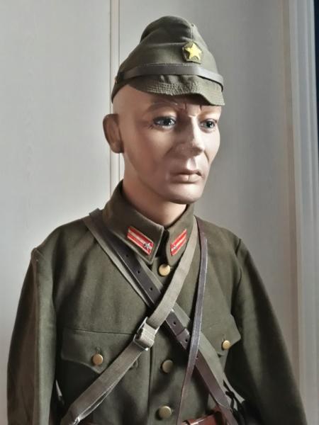 buste d'officier , sous-lieutenant de l'armée impériale . 20200210