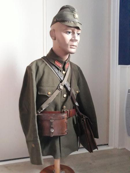 buste d'officier , sous-lieutenant de l'armée impériale . 20200211