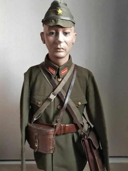 buste d'officier , sous-lieutenant de l'armée impériale . 20200212