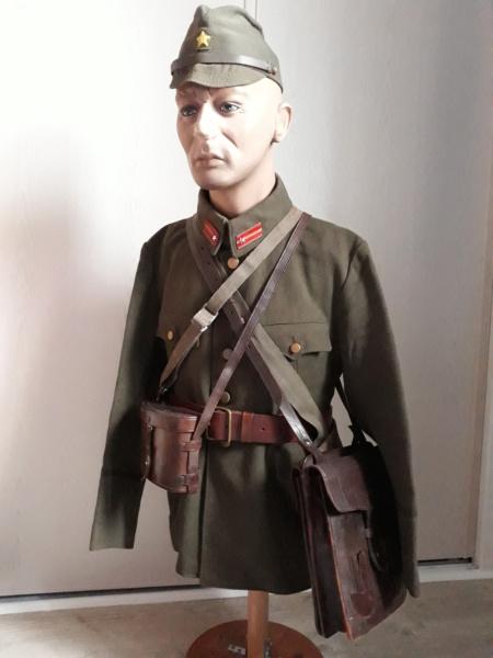 buste d'officier , sous-lieutenant de l'armée impériale . 20200214