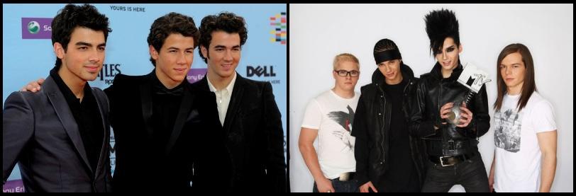 Tokio Hotel & Jonas Brothers Fans