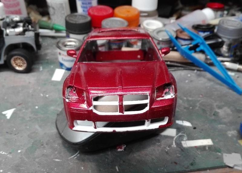 Dodge Magnum SRT8 (Restauration) terminée Magnum45