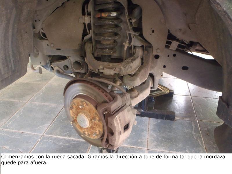 TUTORIAL CAMBIO PASTILLAS DE FRENO DELANTERAS TRITÓN Pa226214