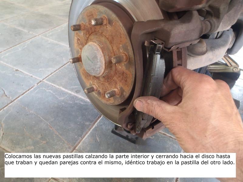 TUTORIAL CAMBIO PASTILLAS DE FRENO DELANTERAS TRITÓN Pa226220
