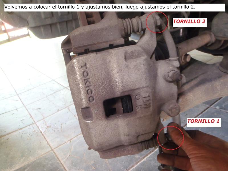 TUTORIAL CAMBIO PASTILLAS DE FRENO DELANTERAS TRITÓN Pa226225