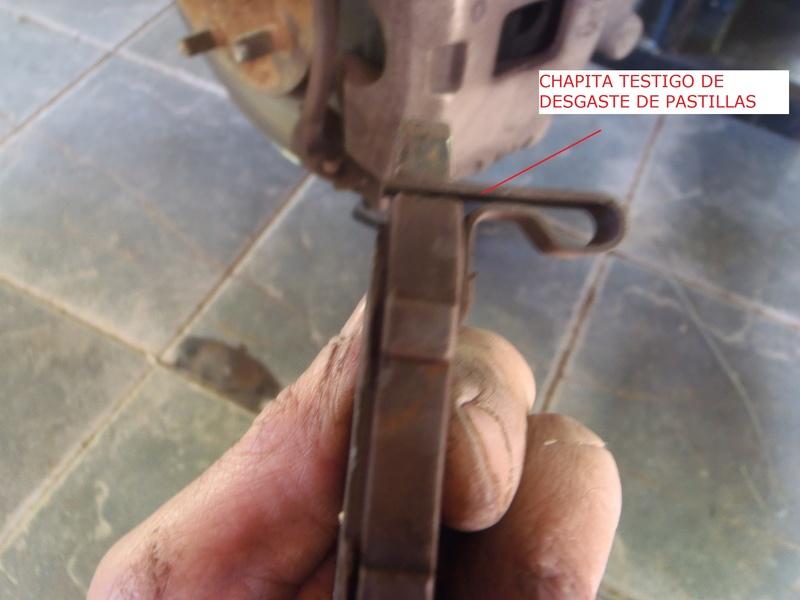 TUTORIAL CAMBIO PASTILLAS DE FRENO DELANTERAS TRITÓN Pa226230