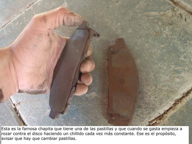 TUTORIAL CAMBIO PASTILLAS DE FRENO DELANTERAS TRITÓN Pa226232