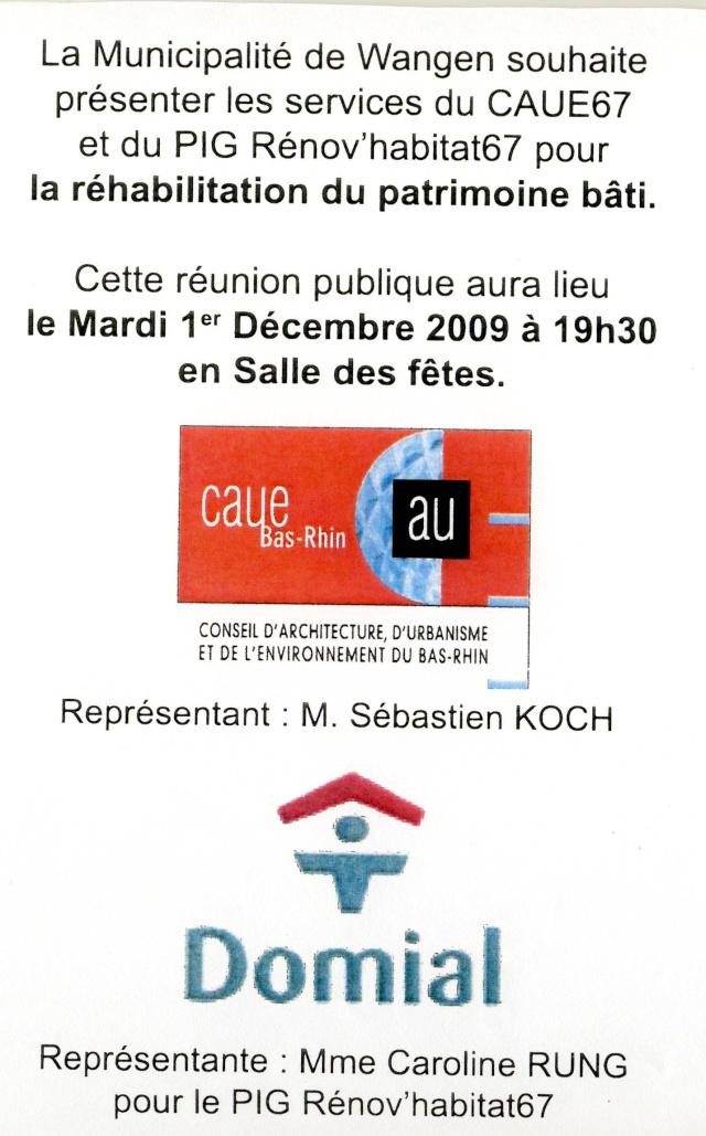 Réunion publique pour la réhabilitation du patrimoine bâti Image017