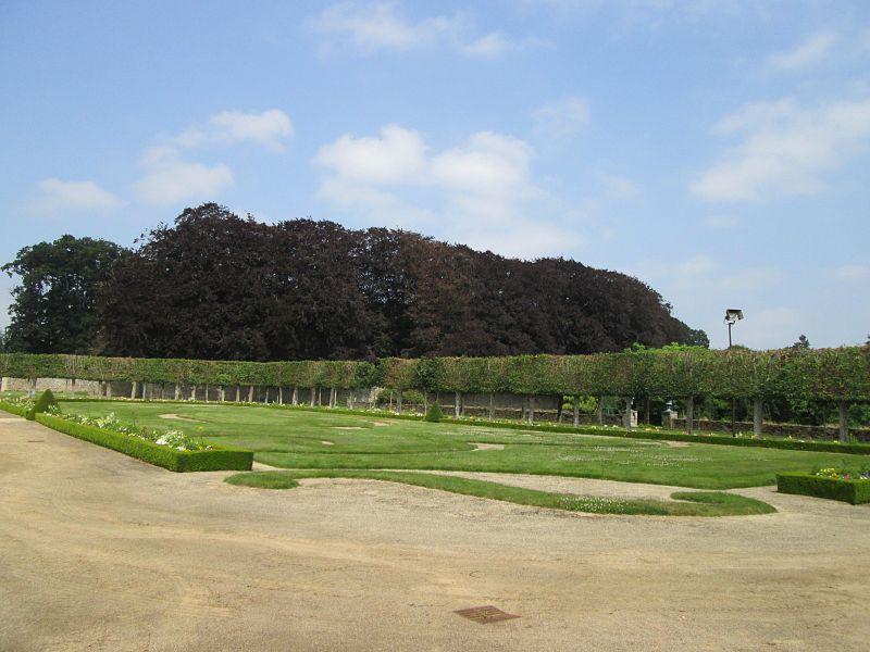 Chateaux de la Bretagne Jardin10