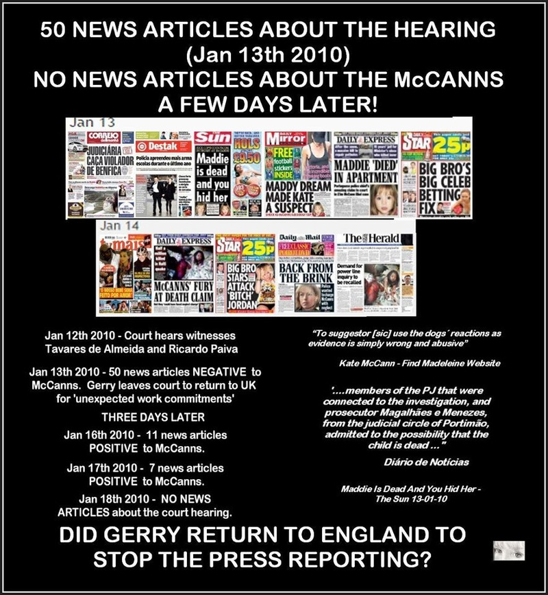 50 New Articles about the Hearing - Did Gerry return to England to stop the Press reporting? Press10