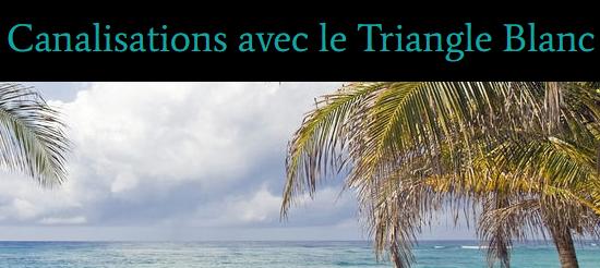 Nouveau blog: Canalisation avec le Triangle Blanc Canali10