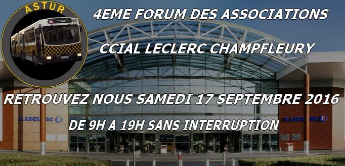 4éme forum des associations au Leclerc Champfleury le 17 Septembre 2016 Public10