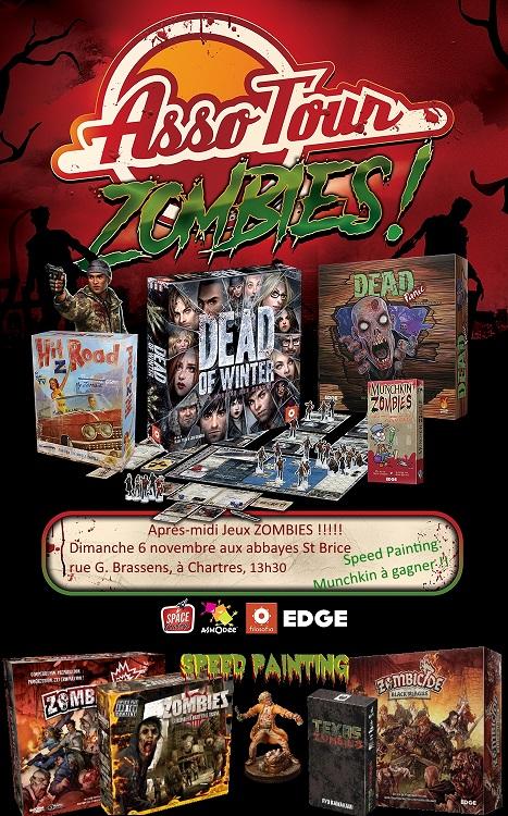 Après-midi du 6 novembre à St Brice: ZOMBIES !!!  Affich11