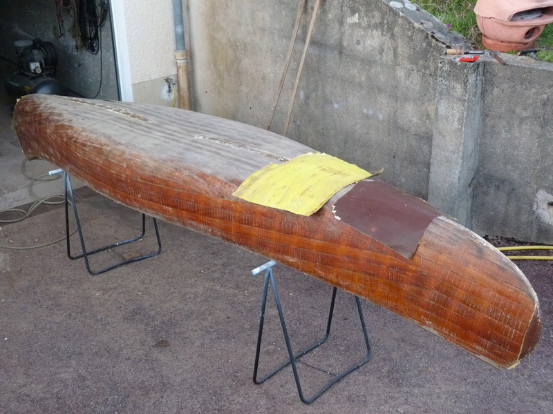 mon vieux nouveau canoé P1090813